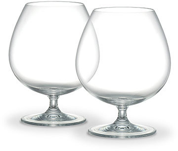 Marquis by Waterford Crystal Brandy Sniffers/Cognac Glasses