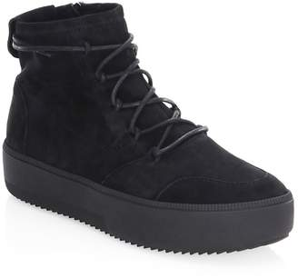 Giuseppe Zanotti Men's Lace-Up Leather Boots