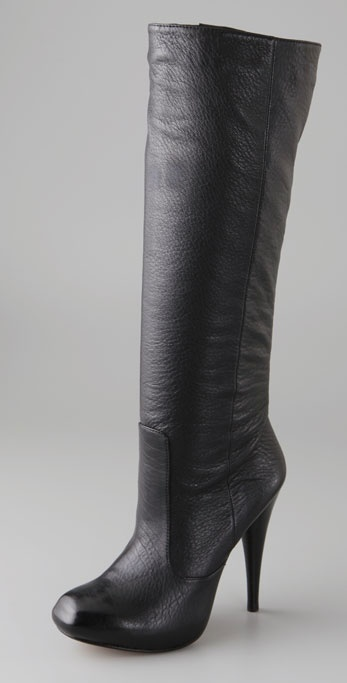 Velvet Angels Chloe 81 Snip Toe Boots on Hidden Platform