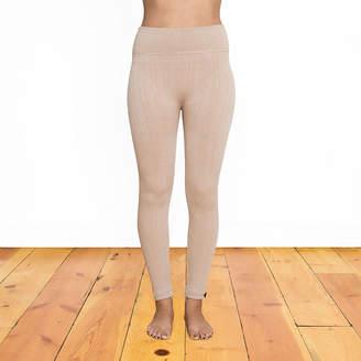 Muk Luks Womens High Waisted Slim Legging