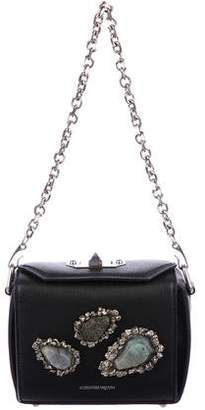 Alexander McQueen Embellished Lambskin Leather Bag