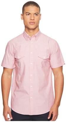 Ben Sherman Short Sleeve Fashion Interest Shirt Men's Short Sleeve Button Up
