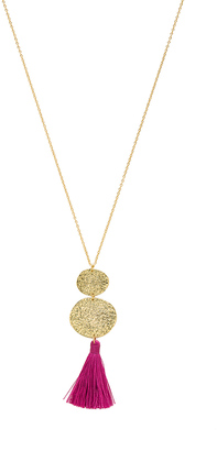 gorjana Phoenix Pendant Necklace $80 thestylecure.com