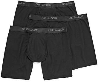 super popular 51958 344c7 Fruit of the Loom 3-pk Luxe Modal Boxer Briefs