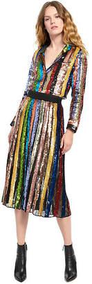Alice + Olivia (アリス オリビア) - Alice+olivia Tianna Stripe Midi Skirt