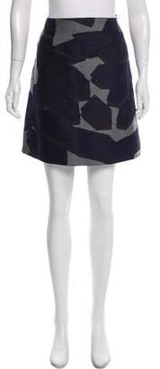 Christopher Raeburn Jacquard Wool Skirt