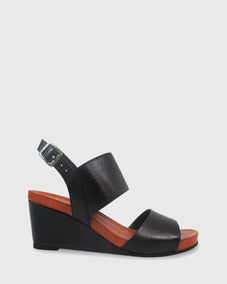 Marion Open Toe Wedge Sandals