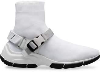 Prada Fabric high-top sneakers