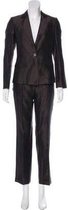 HUGO BOSS Boss by Silk Structured Pantsuit