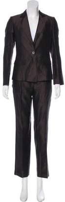 HUGO BOSS Boss by Silk Structured Pantsuit