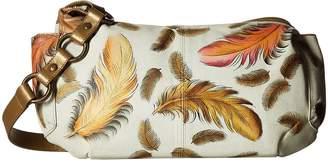 Anuschka 506 East West With Side Pockets Shoulder Handbags