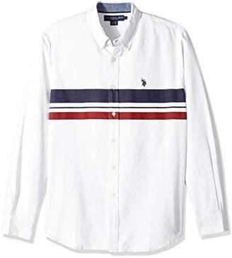 U.S. Polo Assn. Men's Long Sleeve Classic Fit Solid Shirt