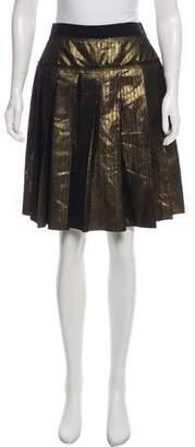 Dolce & Gabbana Mini Box Pleated Skirt