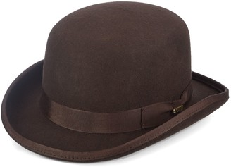 Scala Men's Wool Felt Bowler Hat