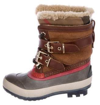 Burberry Girls' Rubber Snow Boots