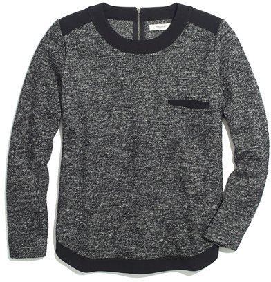 Madewell Marled Contrast Top