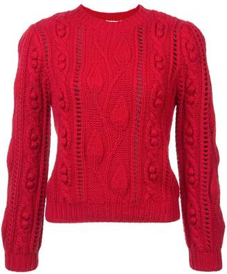 Co cable knit jumper
