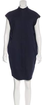 Zero Maria Cornejo Cap Sleeve Knee-Length Dress