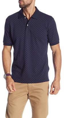 Brooks Brothers Mini Floral Print Pique Knit Polo