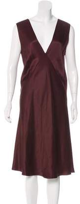Calvin Klein Collection Sleeveless Silk Dress