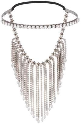 Miu Miu fringed crystal tiara