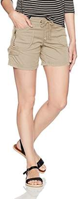 UNIONBAY Women's Christy Knit Waist Short Solid