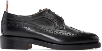 Thom Browne Black Leather Brogues $1,190 thestylecure.com