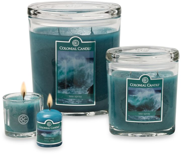 Bed Bath & Beyond Colonial Candle® Sea Spray Scented Candles
