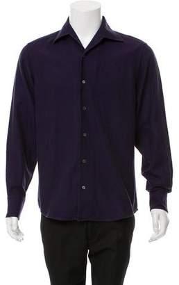 Malo Woven Button-Up Shirt