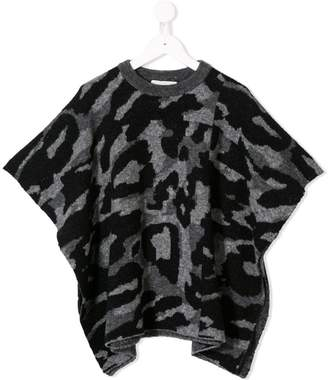 Stella McCartney camouflage knitted top