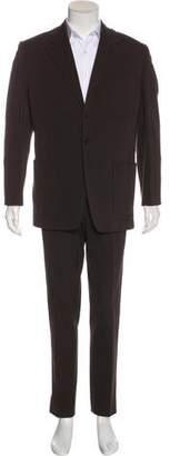 Prada Woven Two-Piece Suit