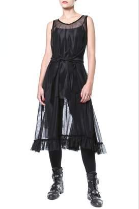 Madonna & Co Sheer Statement Tunic-Dress