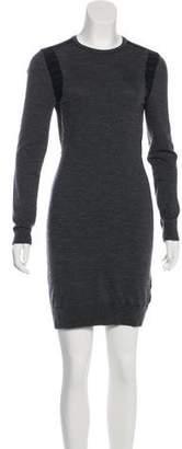 MICHAEL Michael Kors Merino Wool Mini Dress