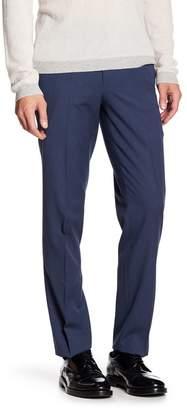"""Louis Raphael Solid Herringbone Modern Fit Pants - 30-34\"""" Inseam"""