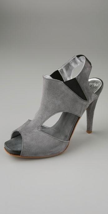 Tashkent By Cheyenne Magnay Cutout Platform Sandals