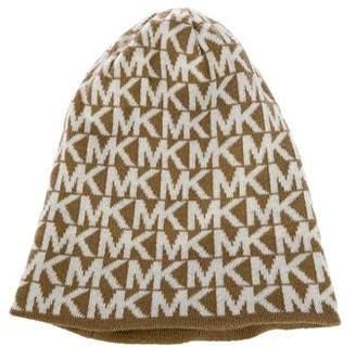 MICHAEL Michael Kors Knit Monogram Beanie