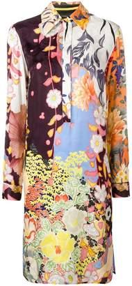 Etro printed shirt dress