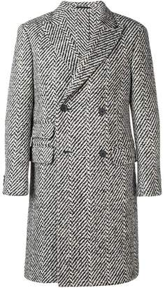 Ermenegildo Zegna double-breasted coat