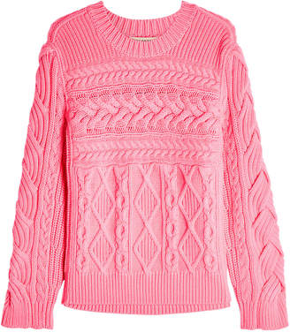 Burberry Tolman Wool Pullover with Cashmere