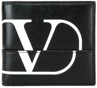 Valentino Billfold Wallet in Black & White | FWRD