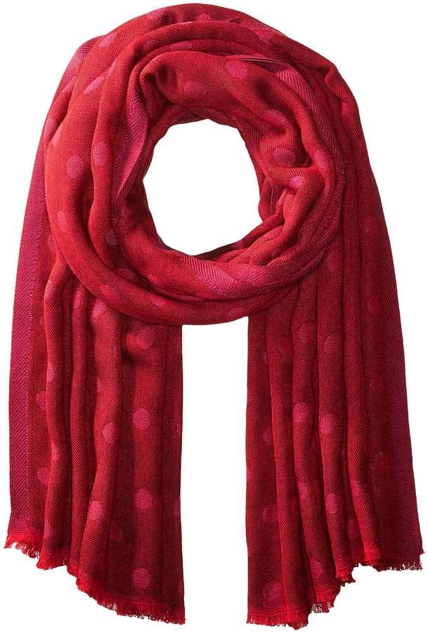 Echo Design - Polka Dot Blanket Wrap Scarves