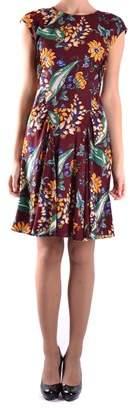 Prada Women's Multicolor Silk Dress.