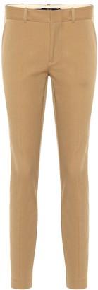 Polo Ralph Lauren Mid-rise skinny cotton blend pants