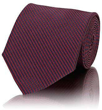 Cifonelli Men's Corded-Stripe Silk Necktie
