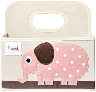 3 Sprouts Diaper Caddy, Elephant