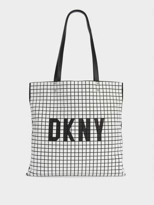 DKNY St. Marks Logo Tote