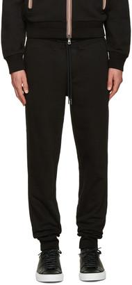 Moncler Black Lounge Pants $320 thestylecure.com