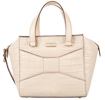 Kate Spade Kate Spade New York Embossed Leather Satchel