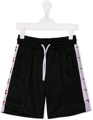 Diadora Junior logo tape sport shorts