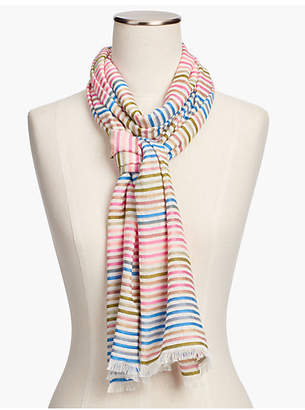 Talbots Yarn-Dyed Stripe Scarf
